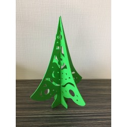 GRAND SAPIN 3D COULEUR
