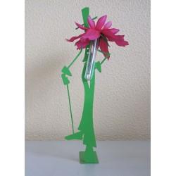 Figurine homme soliflore
